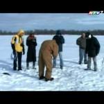 [Clip] Một lần câu cá trên băng ở Red Lake